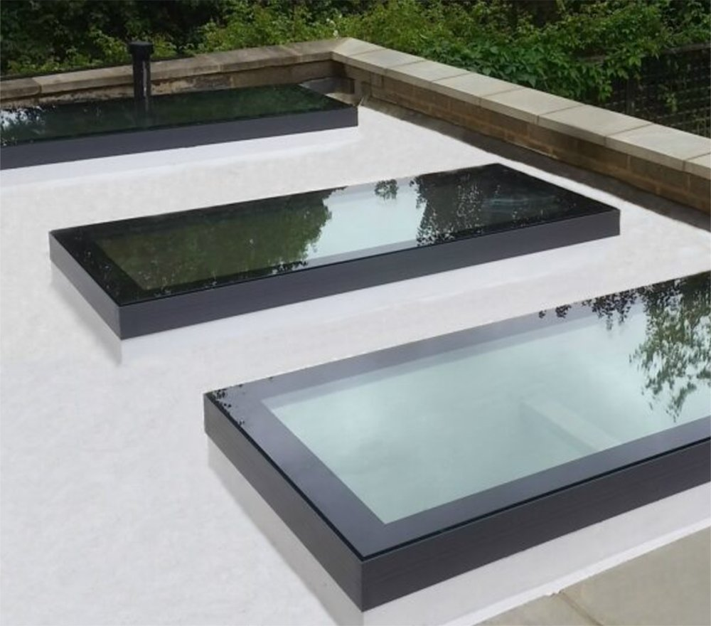 Modern and sleek rooflights that look just as good outside as they do indoors!